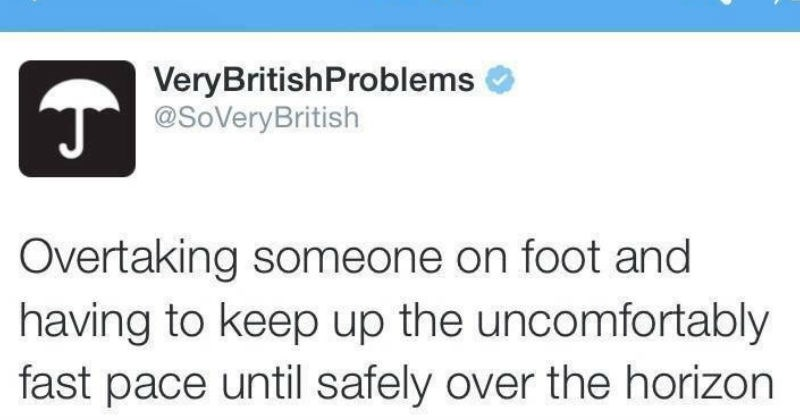 britain apology British tweets waving socially awkward passive aggressive funny - 6495749