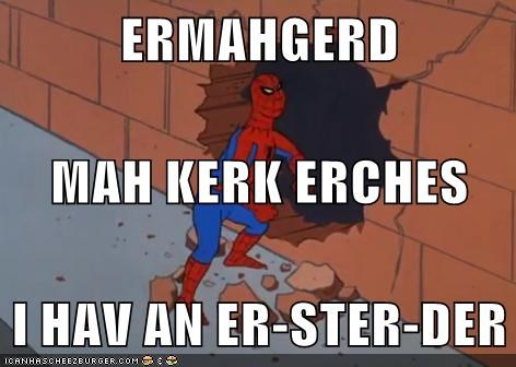 Ermahgerd itch no no tubes Spider-Man STD Super-Lols - 6495767040