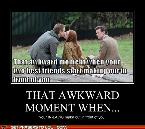 amy pond,arthur darvill,doctor who,in laws,karen gillan,Matt Smith,response,rory williams,that awkward moment,the doctor