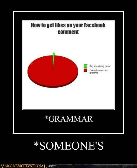 comment,facebook,grammar,someone