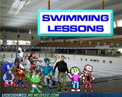 dying old school swimming the feels water - 6496036352