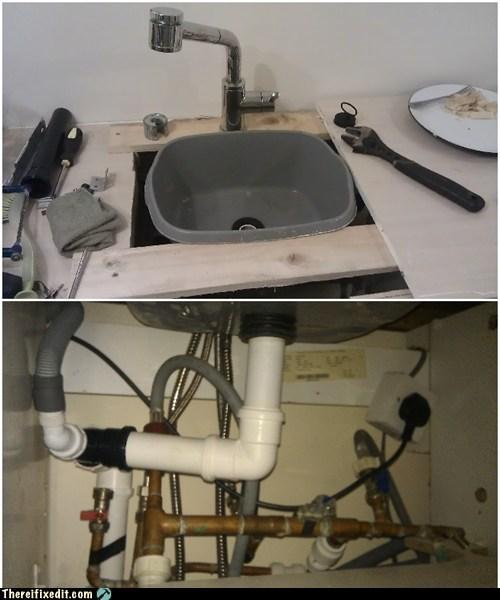 bucket kitchen sink sink tub