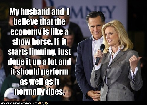 Ann Romney economy Mitt Romney political pictures republlicans