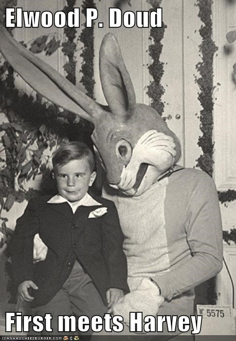 boy,Harvey,kid,rabbit,suit