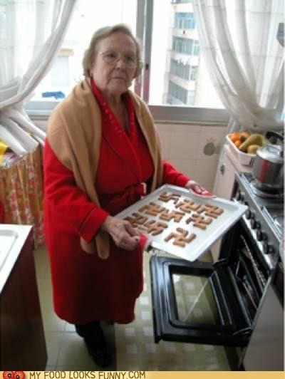 Grandma Made Cookies! ...Wait a second...