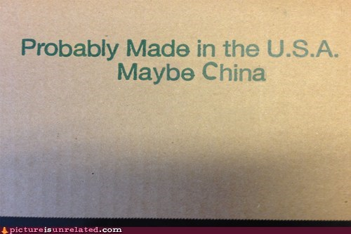 box,made in china,usa,wtf