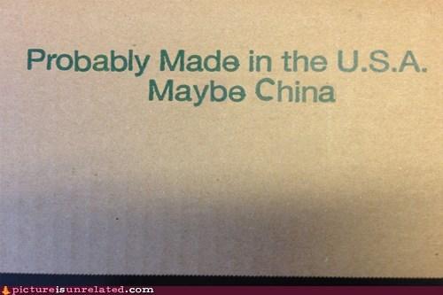 box made in china usa wtf - 6497051392
