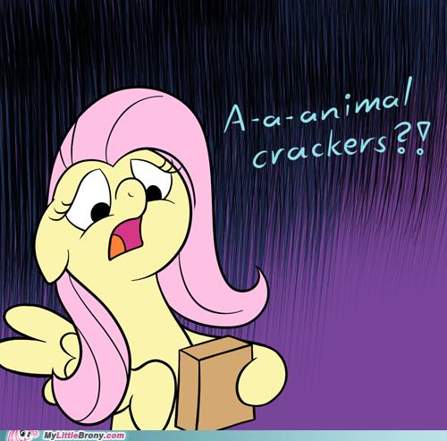 animal crackers art fluttershy my little pony Sad - 6497073408