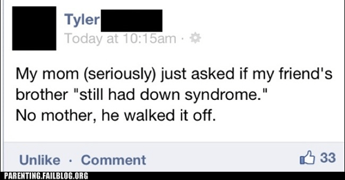 down syndrome facebook