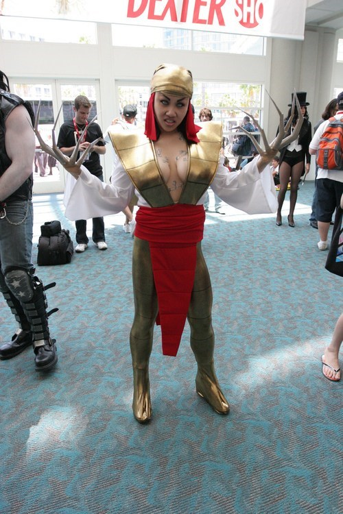 cosplay of the day,lady deathstrike,x men