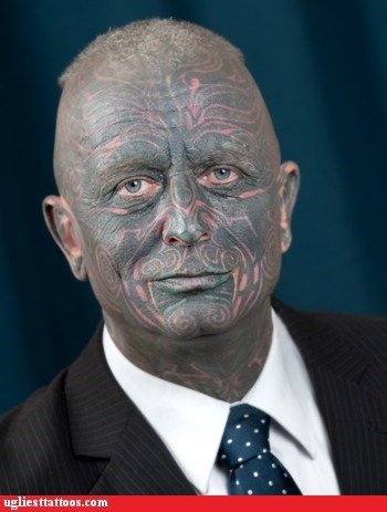 czech republic face tattoos presidential candidates - 6497411584