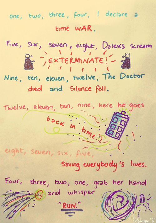 bbc dalek doctor who It Came From the It Came From the Interwebz rhyme scifi tardis - 6497432064