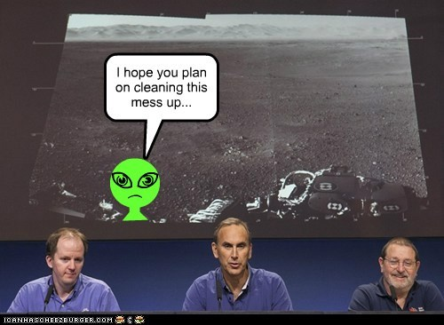 Aliens mars rover nasa political pictures space - 6497445120