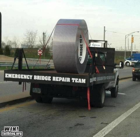 duct tape fixed it repair tape there I fixed it - 6497480448