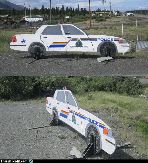 one dimension police car Yukon - 6497537280
