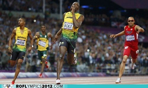 200m gold jamaica sweep Track & Field usain bolt