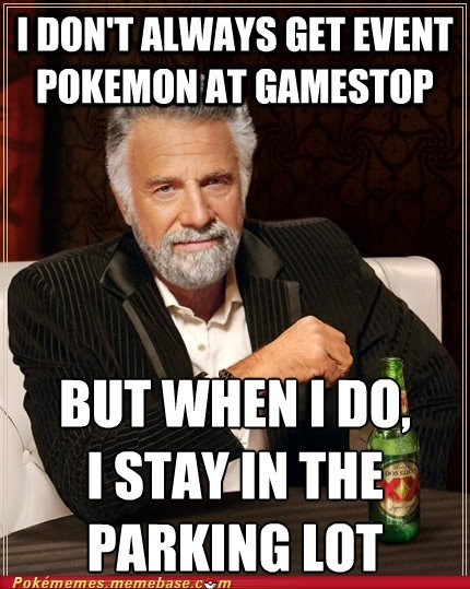 event,gamestop,meme,Memes,parkling lot,the most interesting man in the world