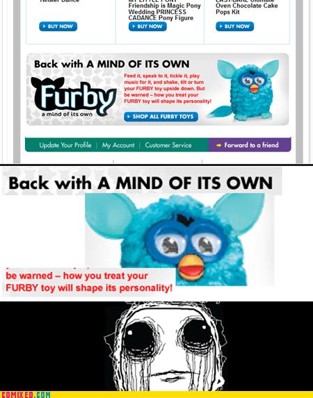 creepy furby the internets toy - 6498012416