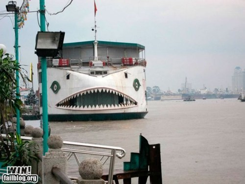 cute ferry shark hacked irl public transportation rawr - 6498022144