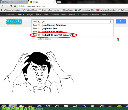 internet explorer,Jackie Chan,Rage Comics,windows