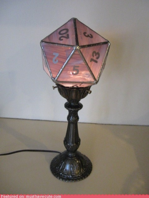 best of the week dd d&d D20 die gamers lamp - 6498124800