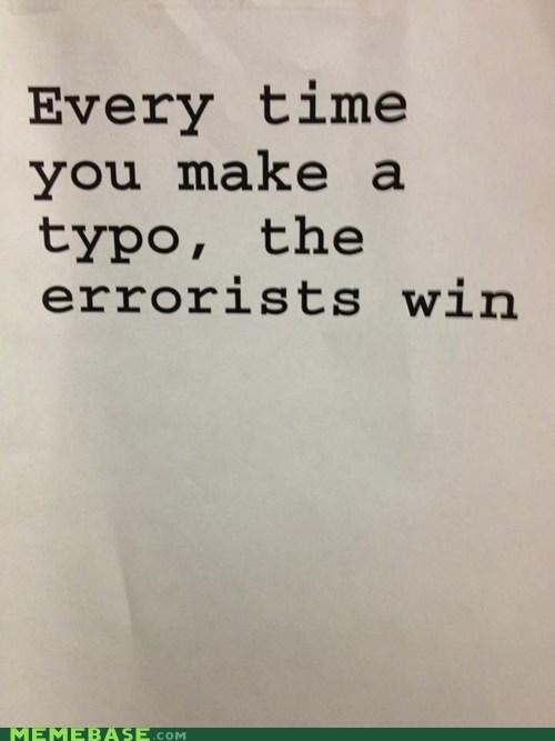 errorist,spelling,typo