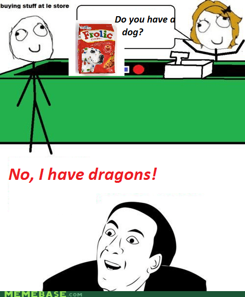 dogs,dragon,food,Rage Comics,store
