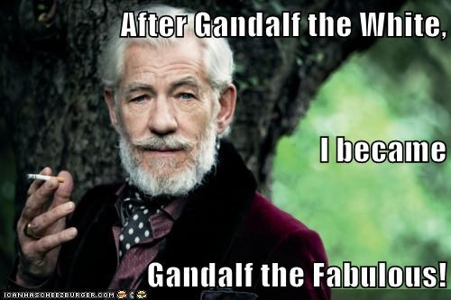 actor celeb funny gandalf ian mckellen