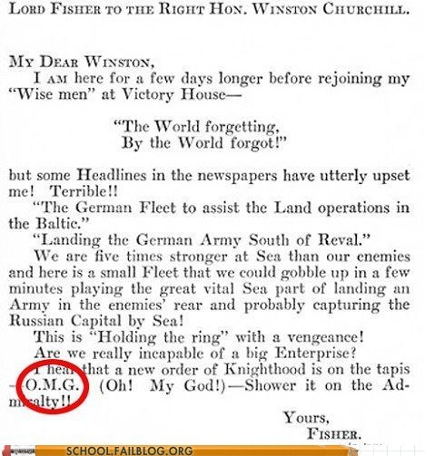 abbreviations,class is in session,history 225,omg,winston