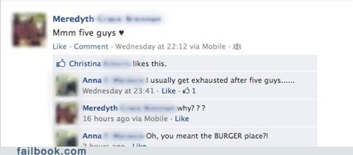 burger place,five guys
