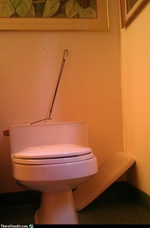 bungee cord,bungee flusher,flush,flusher,toilet