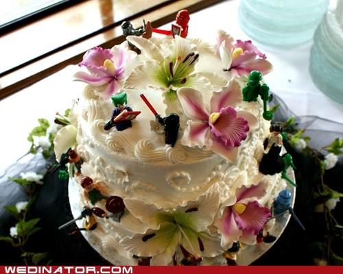 cake funny wedding photos lego legos wedding cake - 6499815424