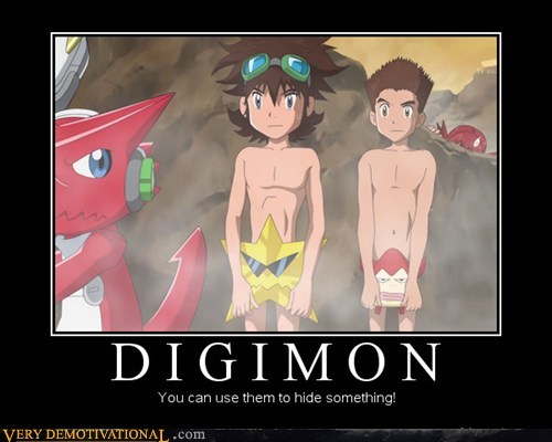 digimon,hide,hilarious,no no tubes