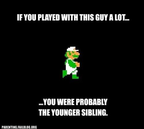 luigi nintendo Super Mario bros younger sibling - 6500041472