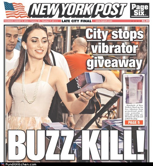 headlines,new york,political pictures,puns,vibrators