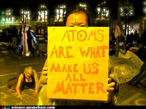 atoms matter physics true - 6500147968