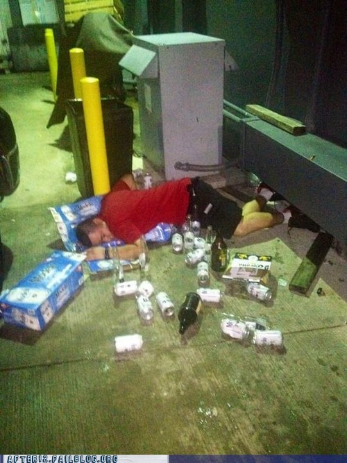 beer,public,passed out,funny