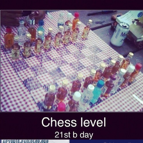 21st birthday checkmate chess drunk grandmaster