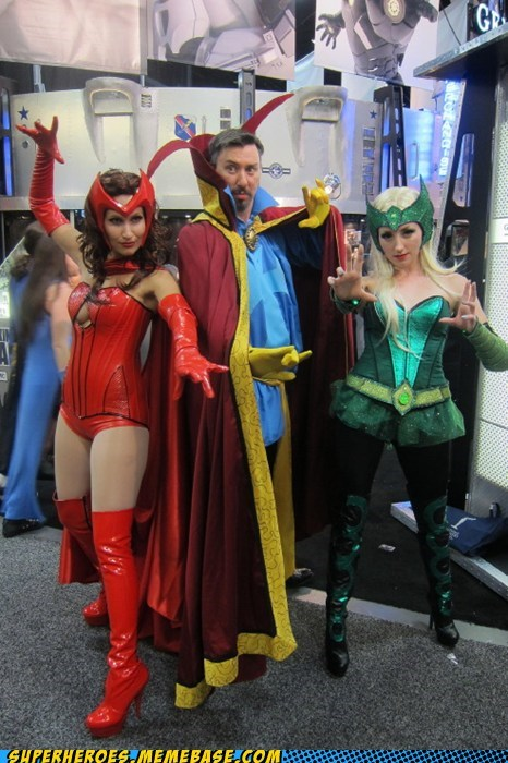 dr-strange magic scarlet witch Super Costume