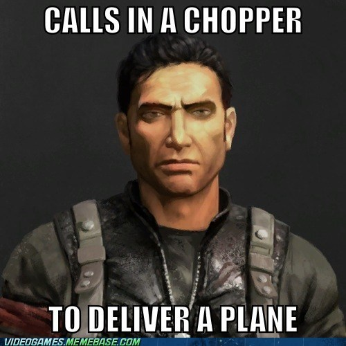 just cause 2 meme video game logic - 6500856832