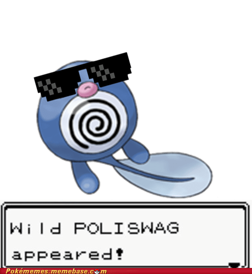 Deal With It Memes poliwag sunglasses swagger