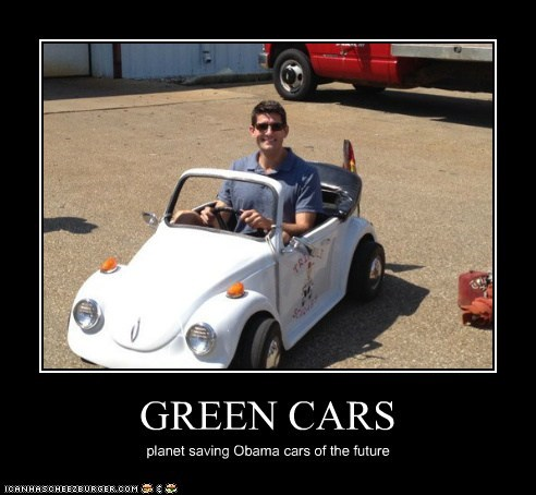 GREEN CARS planet saving Obama cars of the future