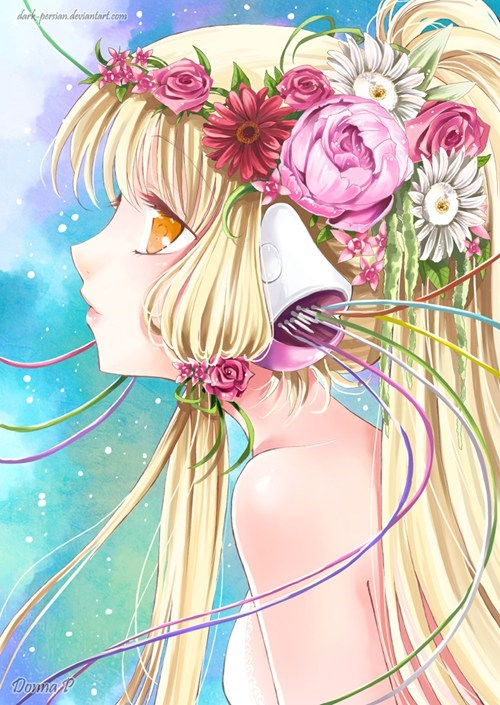 chi,chii,chobits,Fan Art,manga