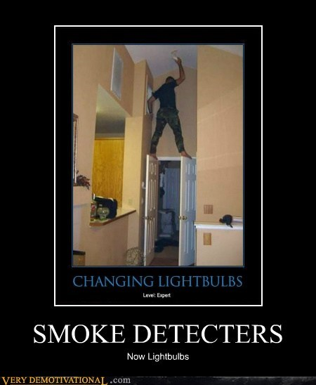 detector hilarious lightbulb smoke