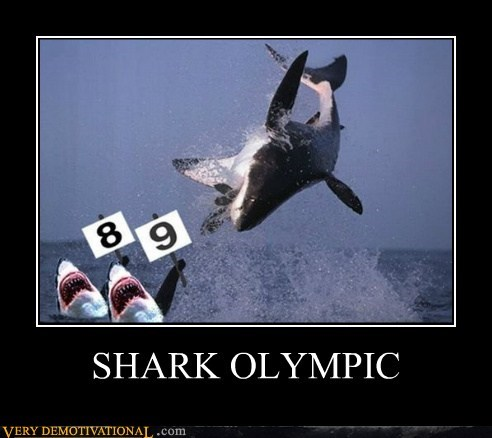 ocean olympics Pure Awesome shark - 6502581760