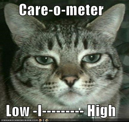 Care-o-meter Low -I--------- up