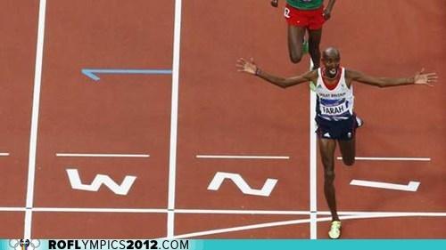 gold London 2012 mo farah olympics running team gb Track and Field - 6503005696