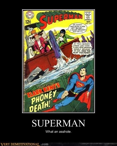 Clark Kent plot Super-Lols superman