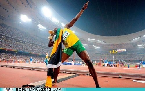 bolt jamaica London 2012 olympics running Track and Field usain bolt world record - 6503179776