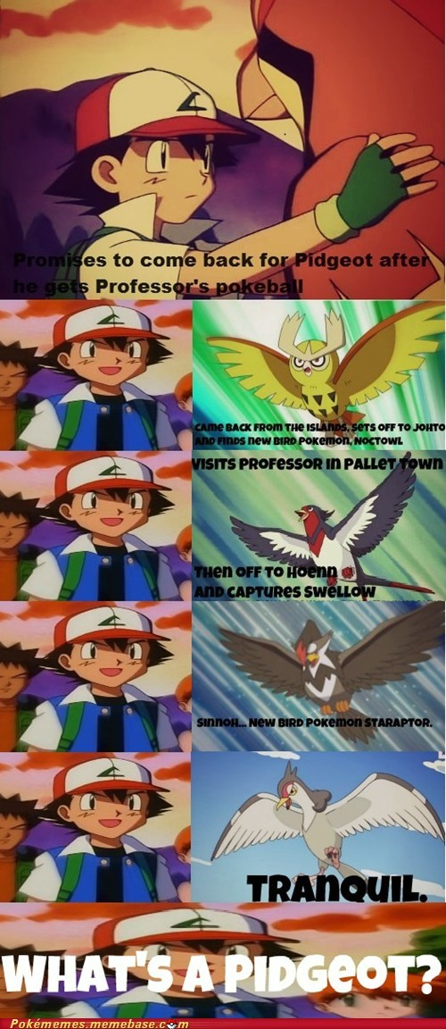 anime ash comic pidgeot - 6503198208
